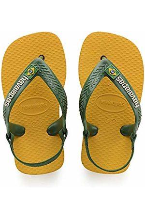 Havaianas Brasil Logo II, Unisex Baby's Flip Flops