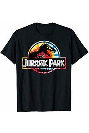 Jurassic Park Tie Dye Circle Logo T-Shirt