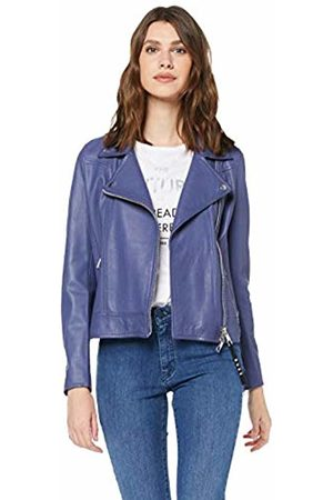 HUGO BOSS Women's Jamore Leather Jacket