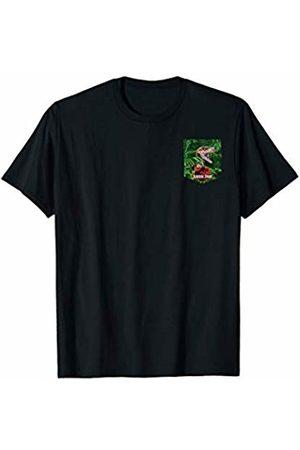 Jurassic Park Hidden Raptor Left Chest Pocket T-Shirt