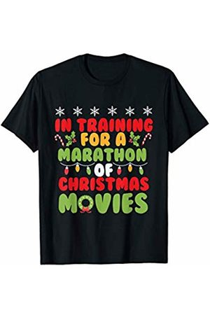 Bowes Christmas In Training For A Marathon Of Christmas Movies T-Shirt