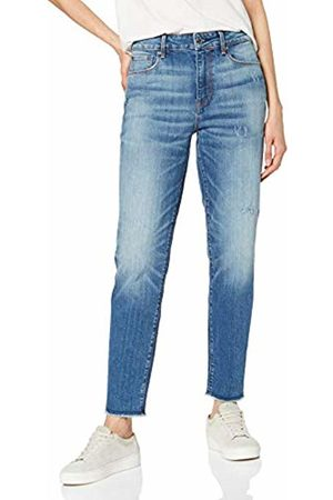 47587de9716 G-Star Women's 3301 Ripped High Waist Straight Ankle Jeans .