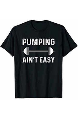 Fitness Gym And Workout Shirts Funny HHWCo. Workout Saying Pumping Lifting Weights Inspire Health Strong T-Shirt