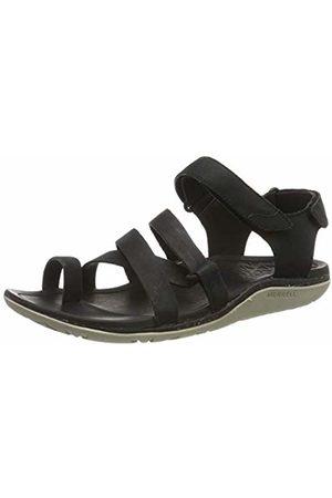Merrell Women's Trailway Wrap Leather T-Bar Sandals