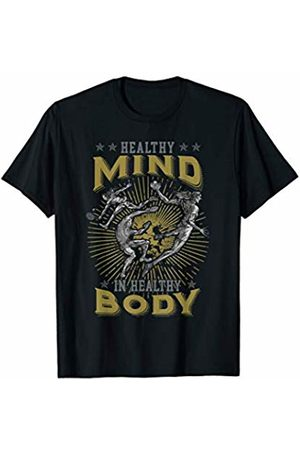Aros Creativos Healthy mind in healthy body sport apparel perfect gift T-Shirt