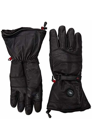 Glovii Natural Leather Battery Heated Ski Universal Gloves, sizes: L