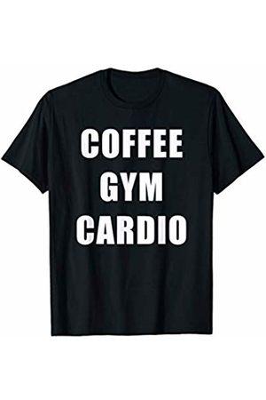 RPdesigns Tees Coffee Gym Cardio T-Shirt