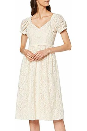 Little Mistress Women's Ellis Buttercup Lace Midi Dress Party, 001