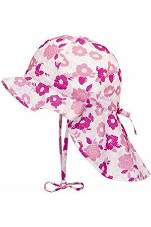 Döll Baby Girls' Sonnenhut Mit Nackenschutz Sun Hat, Beetroot | 2420