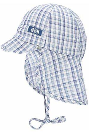 Döll Baby Boys' Bindemütze Mit Schirm Und Nackenschutz Sun Hat, Shadow| 3229