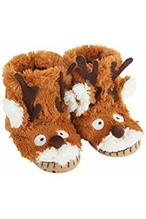 Hatley Unisex Kids' Animal Hi-Top Slippers, ( Reindeer 200)