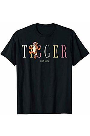 Disney Winnie The Pooh Tigger Name Title T-Shirt