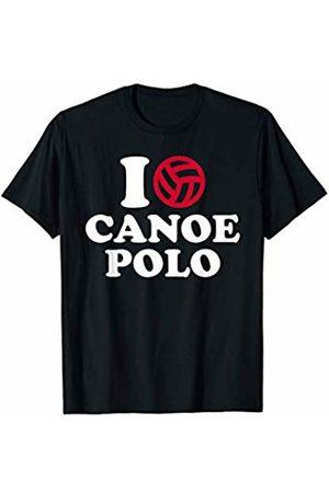 Canoe polo I love T-Shirt