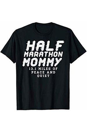 BoredKoalas Run Clothes Marathon Runner Gift Half Marathon Mommy Funny 13.1 Marathoner Runner Mom Gift T-Shirt