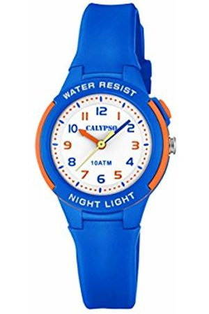 Calypso Unisex Child Analogue Quartz Watch with Plastic Strap K6069/3