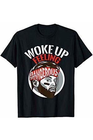 Funny Gym Workout Apparel Co. Funny I woke up Feeling Dangerous Workout T-Shirt