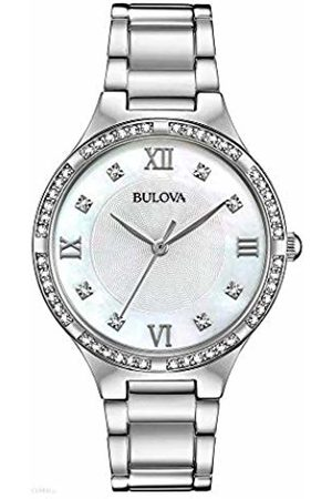 BULOVA Womens Analogue Quartz Watch with Stainless Steel Strap 96L262