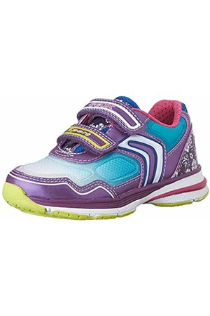 Geox J Top Fly Girl a, Girls' Low-Top Sneakers