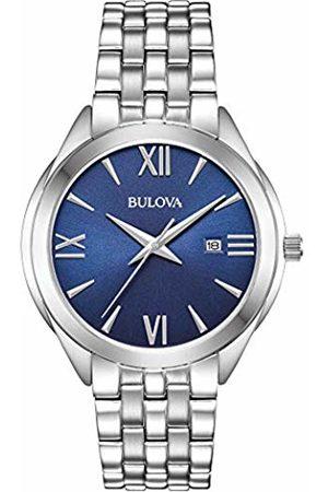 BULOVA Mens Analogue Quartz Watch with Stainless Steel Strap 96B303