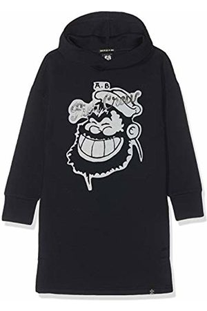 Scotch&Soda R´Belle Girl's Brutus AMS Blauw Colab Sweat Dress Night 01