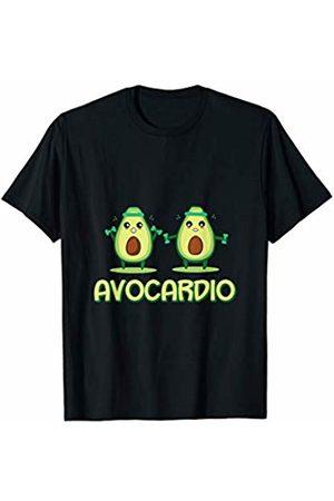 Cardio Team Teez Funny Avocardio Avocado Fitness T-Shirt