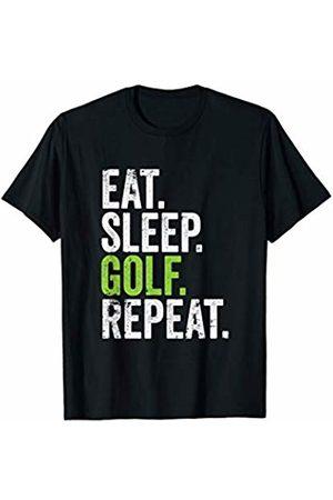 Golfing Friends Inc. Eat Sleep Golf Repeat Golfing Tournament T-Shirt
