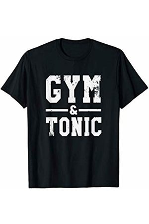 Fitness Drink Teez Funny Gym And Tonic Fitness Drinks T-Shirt