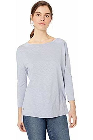 Daily Ritual Lightweight Lived-in Cotton 3/4-sleeve Drop-Shoulder Tunic T-Shirt