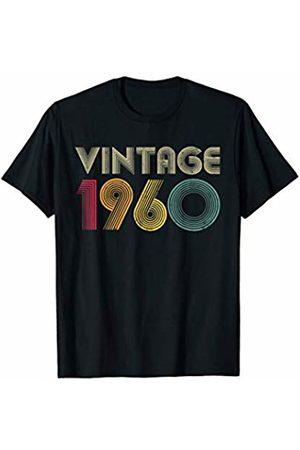 b8e692280 60th Birthday Gift Vintage 1960 Classic Men Women Mom Dad T-Shirt