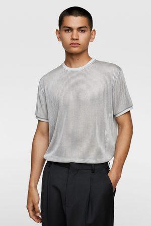 Zara Mesh textured sweater