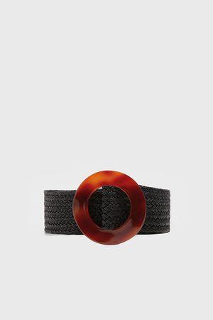 Zara Belt with tortoiseshell-effect buckle