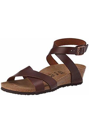 Birkenstock Papillio Women's LOLA Ankle Strap Sandals, Cognac