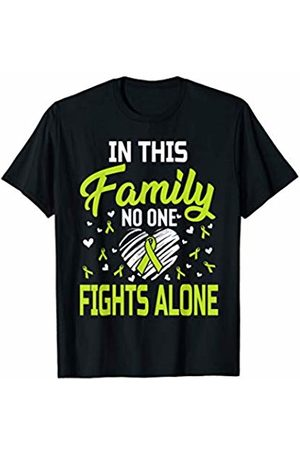 Medotukito Lymphoma Cancer In This Family No One Fights Alone T-Shirt