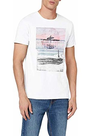 Esprit Men's 059EE2K013 T-Shirt, ( 100)