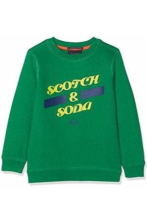 Scotch&Soda Shrunk Boy's Basic Sweat in Regular Fit Sweatshirt