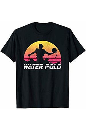 Water Sports Tees Co. Waterpolo Retro T-Shirt Water Polo Swimmers Sport Gift Tee