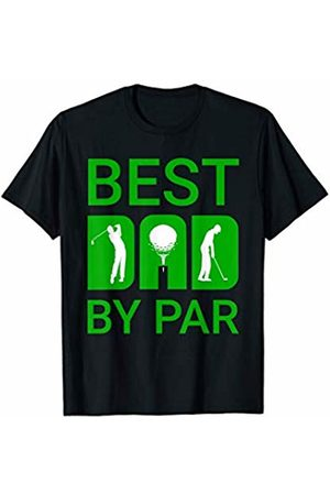 Golf Gear Apparel Co Mens Best Dad By Par Golf Golfer Funny Golfing Fathers Day Gift T-Shirt