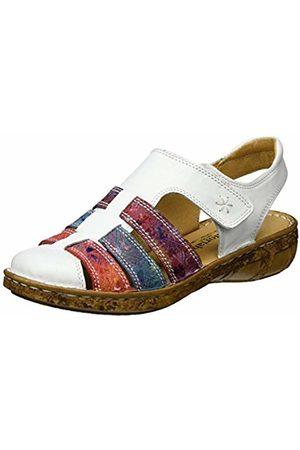 Comfortabel Women's 720109 Open Toe Sandals White Size: 6 UK