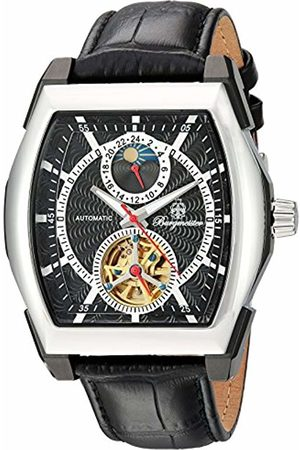 Burgmeister Men's Automatic Watch with Dial Analogue Display and Leather Bracelet BM222-622