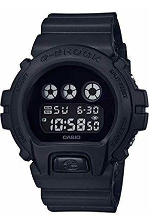 Casio Mens Digital Quartz Watch with Plastic Strap DW-6900BBA-1ER