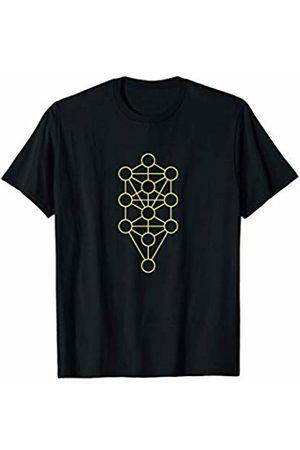 Sacred Geometry Yoga Clothing & Zen Gifts Sacred Geometry Tree Of Life Zen Yoga T-Shirt