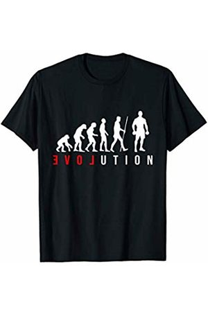 The New Love Evo Shirts & Gifts Mens Weight Lifting Body Builder Gym LOVE Evolution T-Shirt