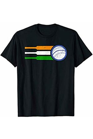 Bluetonic Cricket India Cricket Team Tshirt Indian Cricket Fan Flag T-Shirt