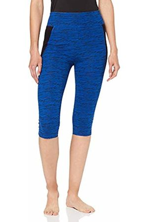 People Tree Peopletree Women's Organic Yoga Abstract Cropped Leggings Skinny Sports Tights