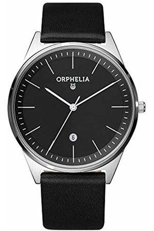 ORPHELIA Men's Quartz Watch with Leather Strap