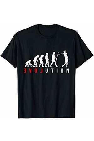 The New Love Evo Shirts & Gifts Golf Player LOVE Evolution T-Shirt
