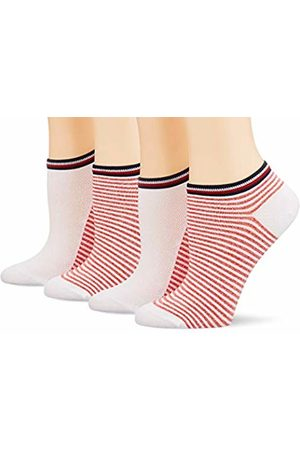 Tommy Hilfiger Women's's Th Women Resort Sneaker 2p Calf Socks, ( /Ribbon 435)