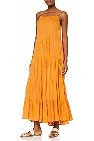 warehouse Women's Textured Strappy Maxi Dress