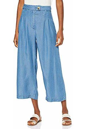 warehouse Women Trousers - Women's Crop Pleat Front Trousers, ( 67)