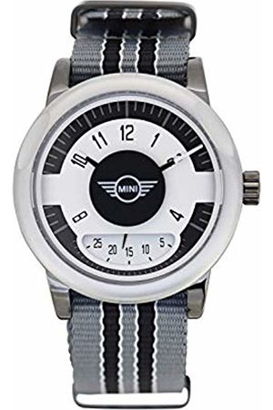 Boden Mini Unisex Adult Analogue Classic Quartz Watch with Nylon Strap SM-009